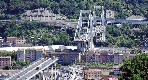 ponte Morandi intervista a Di Prisco